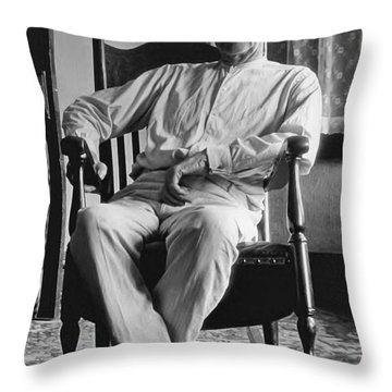 Wyatt Earp 1923 - Los Angeles Throw Pillow