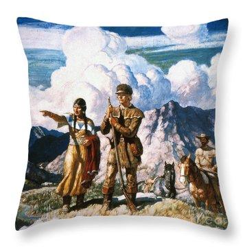 Wyeth: Sacajawea Throw Pillow by Granger