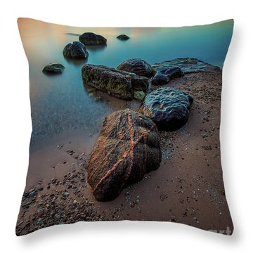 'x' Marks Serenity Throw Pillow