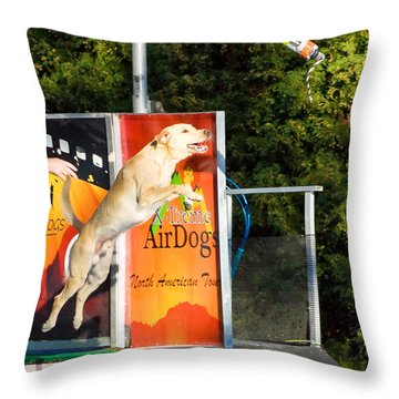 X-treme Airdogs 2 Throw Pillow