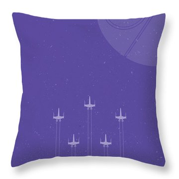 X-wing Attack Throw Pillow