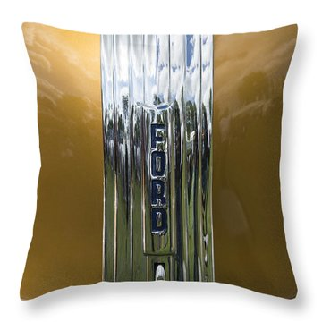 Ford 3 Throw Pillow