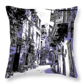 Xania Street Throw Pillow
