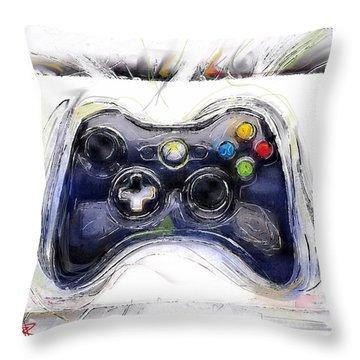 Xbox Thrills Throw Pillow