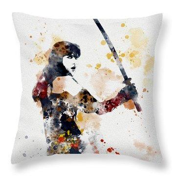 Xena Throw Pillow