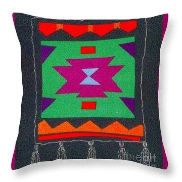 Xenobia Throw Pillow