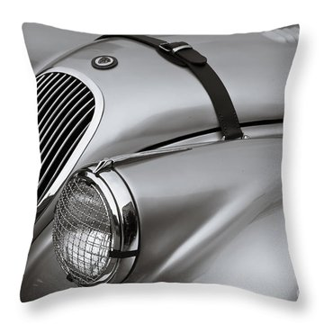 Xk 120 Throw Pillow by Dennis Hedberg