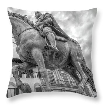 Cosimo De Medici Throw Pillow