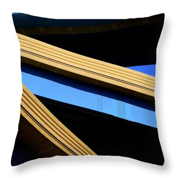 Kandinsky's Lines Throw Pillow