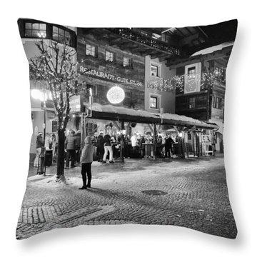 Xroads@hinterglemm Throw Pillow