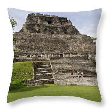 Xunantunich   Throw Pillow