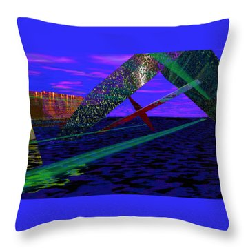 XXZ Throw Pillow
