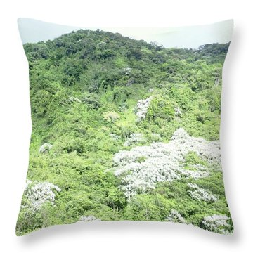 Yagrumo Throw Pillow