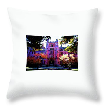 Yale Throw Pillow