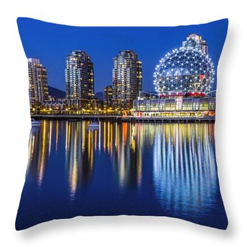 Yaletown Throw Pillow