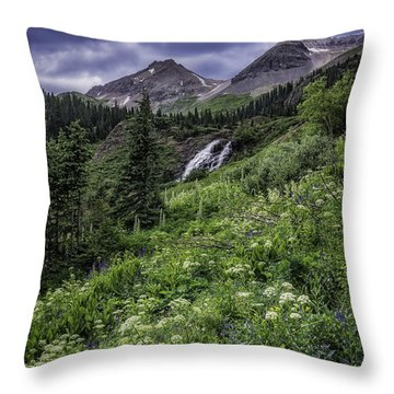 Yankee Boy Basin #1 Throw Pillow