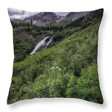 Yankee Boy Basin #2 Throw Pillow