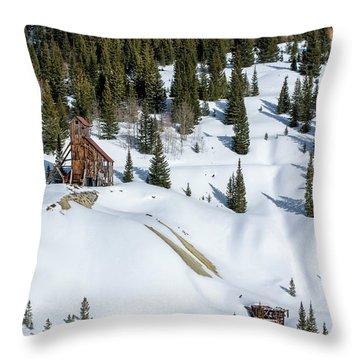 Yankee Girl Mine Throw Pillow