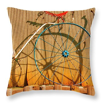Yankey Doodle Ingenuity Throw Pillow by Daniel Hebard