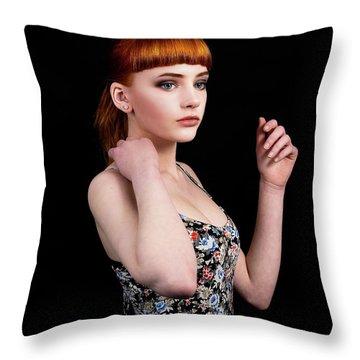 Yasmin Perfection Throw Pillow