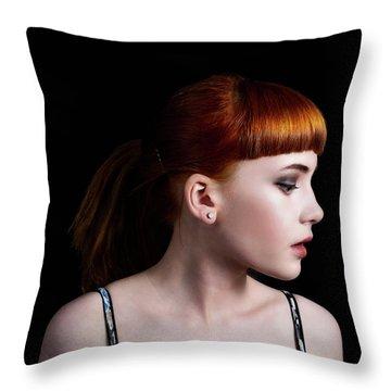 Yasmin Studio Right Throw Pillow