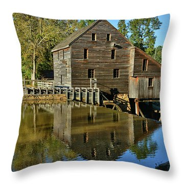 Yates Mill Throw Pillow