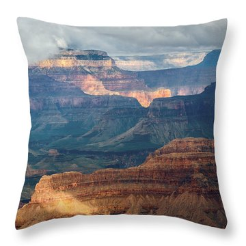 Yavapai Point Throw Pillow by Beverly Parks