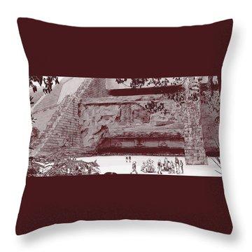 Yavin Temple Throw Pillow