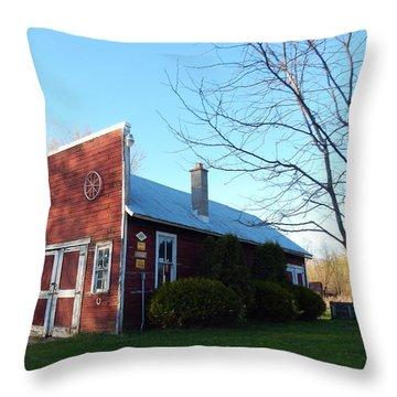 Ye Olde Blacksmith  Throw Pillow
