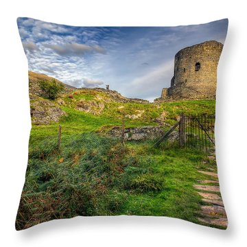 Ye Olde Path  Throw Pillow by Adrian Evans