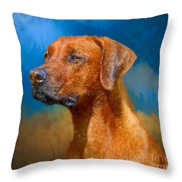 Year Of The Dog Throw Pillow