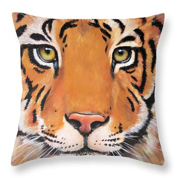 Year Of The Tiger Throw Pillow