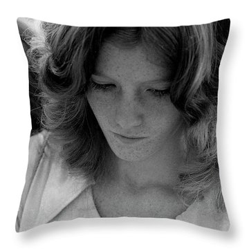 Yearbook Signing, 1972, Part 2 Throw Pillow