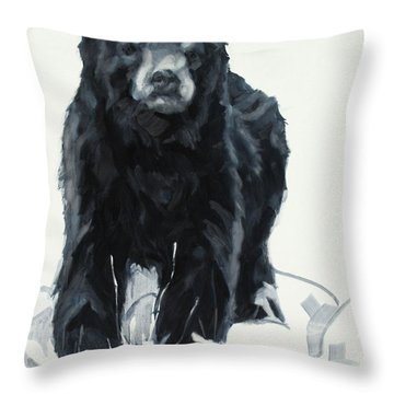 Yearling Throw Pillow