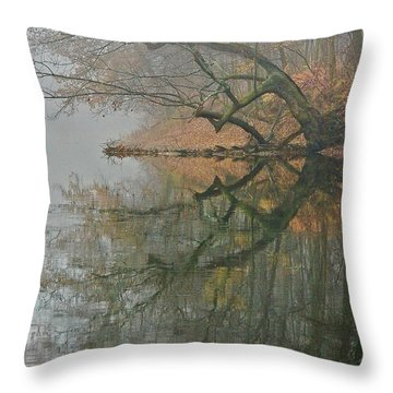 Yearming Throw Pillow by Tom Cameron