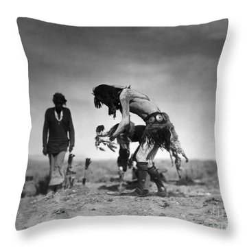 Yeibichai Ceremony, C1905 Throw Pillow by Granger