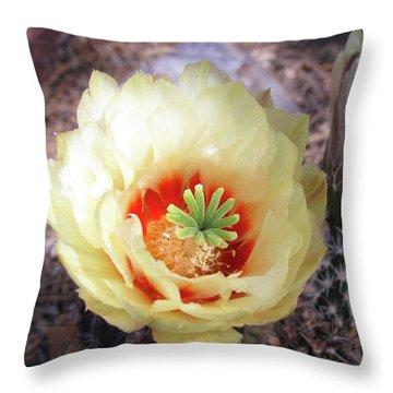 Yellow Alicoche Throw Pillow