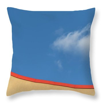 Yellow And Blue - Throw Pillow
