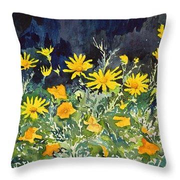 Yellow And Orange Throw Pillow