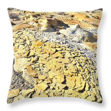 Throw Pillow featuring the photograph Yellow Brick Road by Ray Mathis