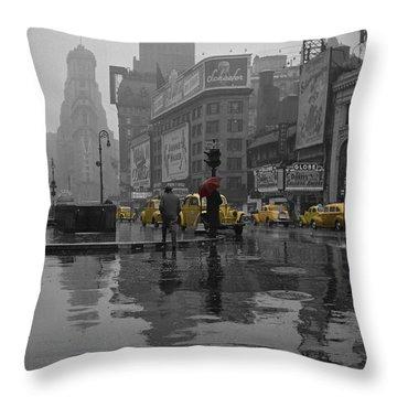 Buildings Throw Pillows