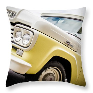 Yellow Cream Dreamsicle  Throw Pillow by Off The Beaten Path Photography - Andrew Alexander