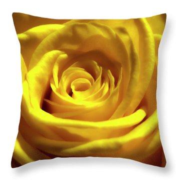 Yellow Dream 2 Throw Pillow