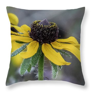 Yellow Flower 6 Throw Pillow