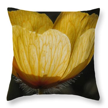 Yellow Flower 4 Throw Pillow