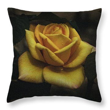 Yellow Rose - 2015 Throw Pillow