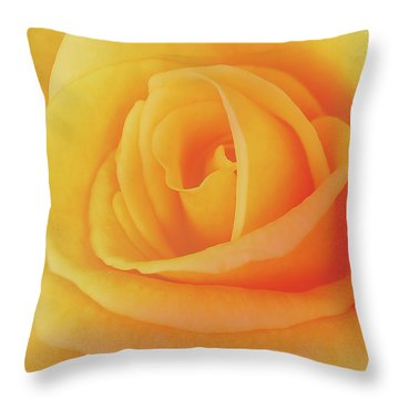 Yellow Rose 4788 Throw Pillow by Michael Peychich