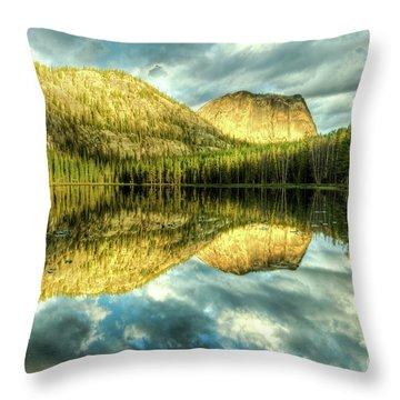 Yellowjacket Lake Throw Pillow