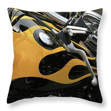 Yellowjacket Throw Pillow