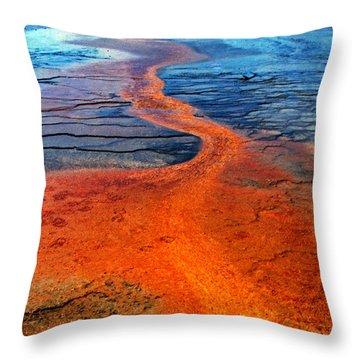 Yellowstone 1 Throw Pillow